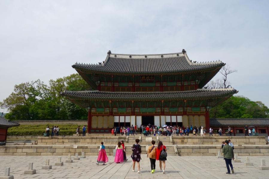Palais de GYEONGBOK à Séoul