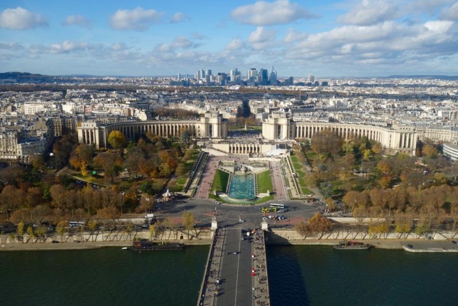 Vue de Paris depuis la Tour Eiffel
