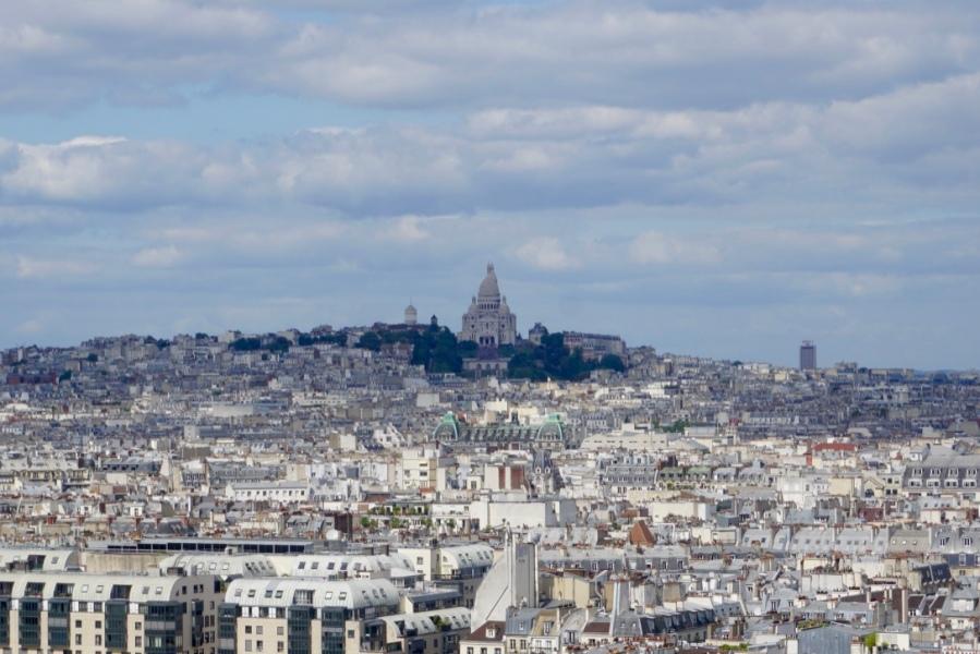 Vue de Paris depuis la tour Saint-Jacque
