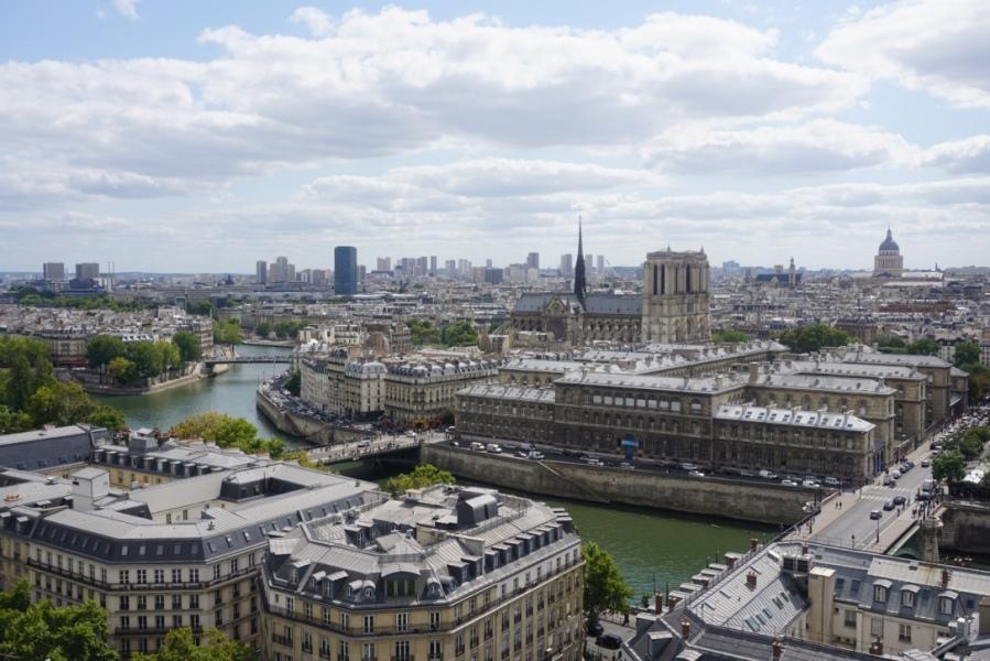 Vue de Paris depuis la tour Saint-Jacques