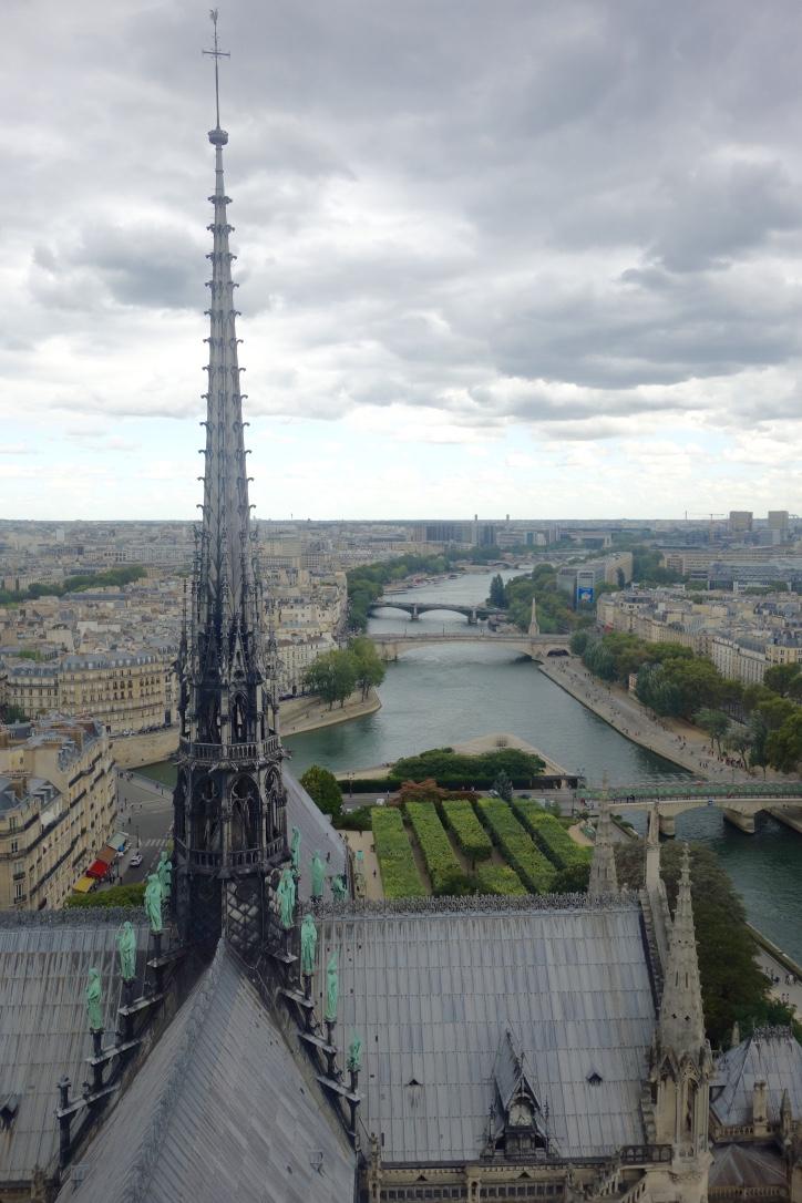 Vue de Paris depuis Notre-Dame