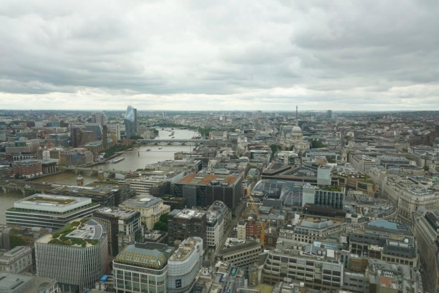 Deux endroits pour voir Londres d'en haut