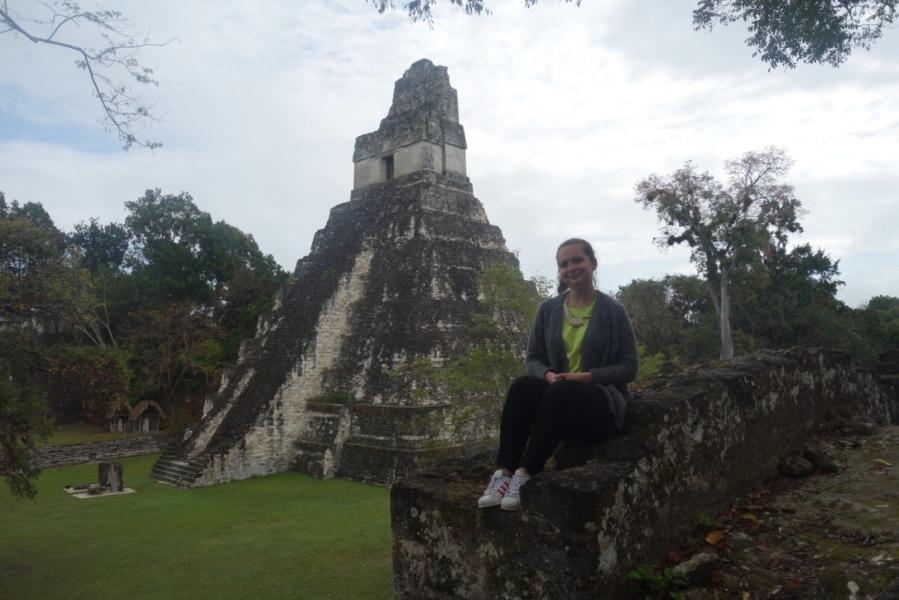 thuVoyager seule au Guatemala