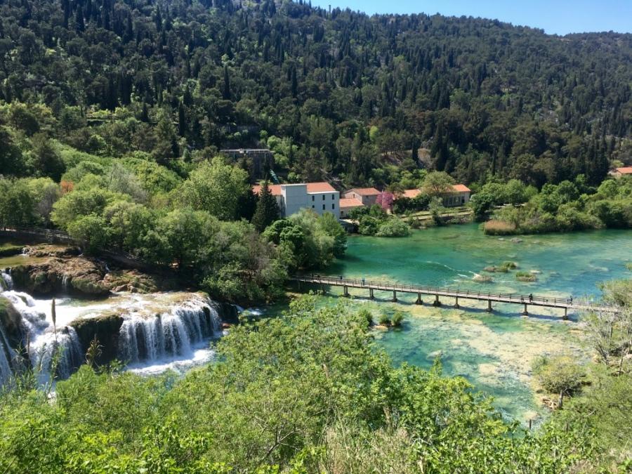 Parc de Krka en Croatie