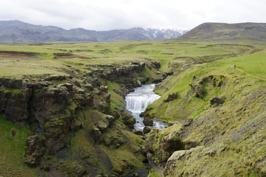 Les cascades du sud de l'Islande