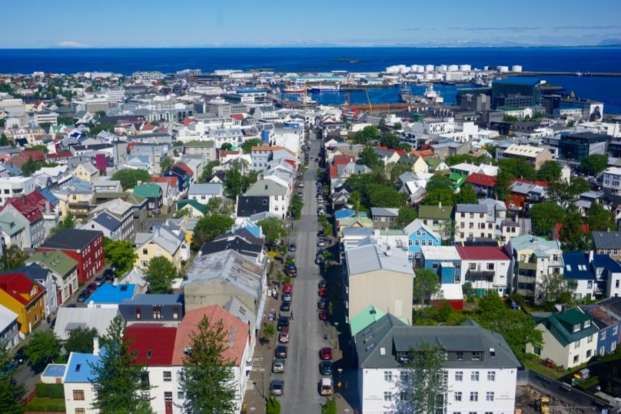 Une journée à Reykjavik