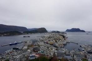 La région des fjords en Norvège en novembre