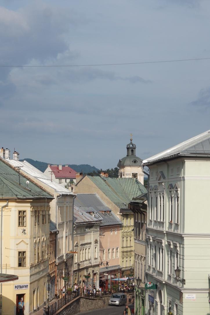Voyage en Slovaquie : Banská Štiavnica