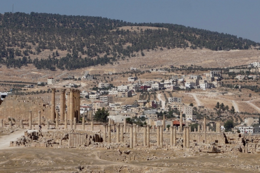 Visiter la cité antique de Jerash en Jordanie