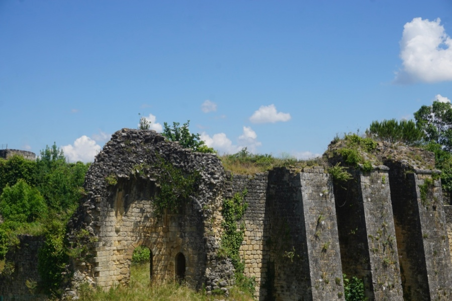 tPromenade au sein de la citadelle de Blaye
